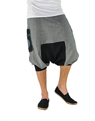 virblatt – Pantalones Vaqueros Cortos para Hombres y Mujeres como Ropa etnica –KleinerBruder