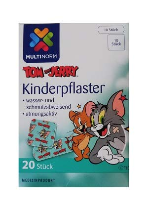 Multinorm Motiv Kinderpflaster Tom und Jerry MHD:08-2023