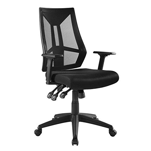 Modway Extol Mesh Ergonomic Computer Desk Office Chair In [COLOR}