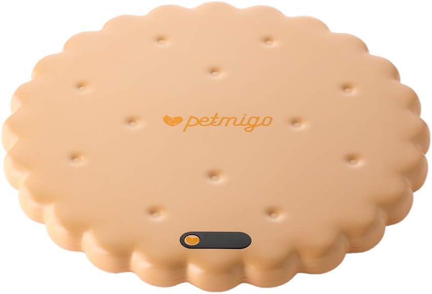 PETMIGO Digital Pet Scale for New product type Regular Finally popular brand Health Check-Up Orange