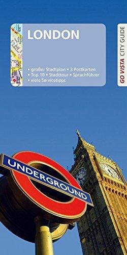GO VISTA: Reiseführer London: Mit Faltkarte und 3 Postkarten (Go Vista - City Guide)