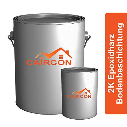 CAIRCON 2K Epoxidharz Bodenbeschichtung Epoxy - wie RAL7016 Anthrazitgrau - 2,5KG