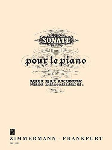 Sonate b-Moll: für Klavier