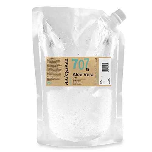 Naissance Gel d'Aloe Vera (n° 707) - 1kg Sachet recharge - vegan, non testé sur les animaux - apaisant et rafraîchissant pour la peau