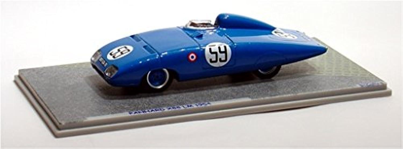 PANHARD X 88 N.59 LM 1954 1 43 Bizarre Auto Competizione modellololo modellololino die cast