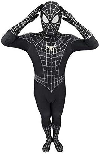 respuestas rápidas LHKJB Traje siamés Digital 3D Spiderman negro negro negro Juega Cosplay Disfraz de Anime (Talla   M)  calidad garantizada