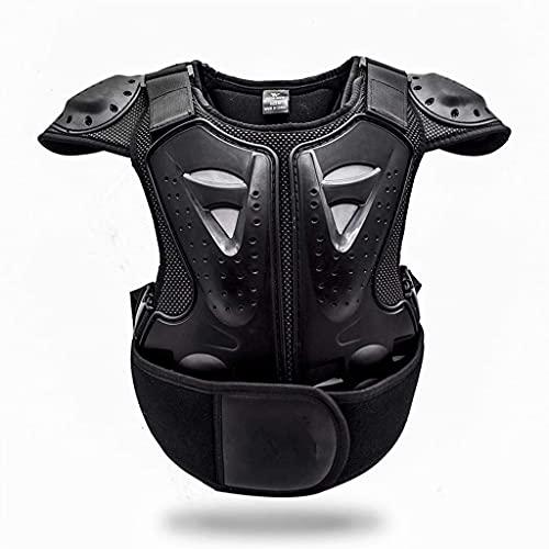 DXMGZ Chaqueta de Moto Infantil, Chaleco Protector de Pecho, Transpirable y Cómodo,...