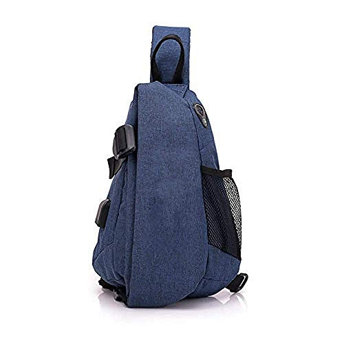 Waterroof Backpack for Outdoor Hiking Camping Travel 2L Chest Bag Gym Fitness Sports Exquisite Appearance/Blue/As Shown