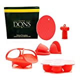 California Dons Instant Pot Accessories With Vegetable Steamer Basket – Egg Bites Mold with L…