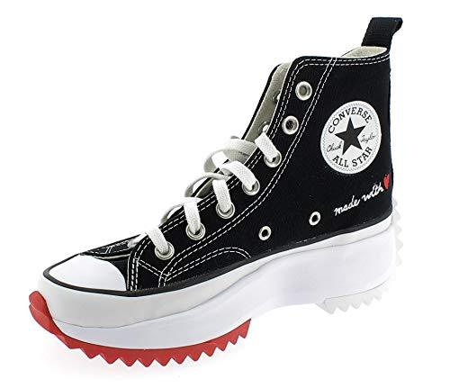 Converse Run Star Hike Hi Platform Chaussures DE Sport pour Femme Noire 171120C