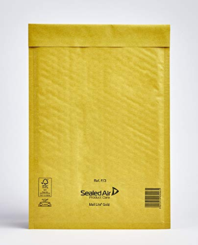 Mail Lite - Busta postale imbottita, 220 x 330 mm, 10 pezzi