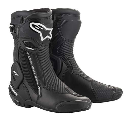 Alpinestars SMX Plus V2 Botas de montar para motocicleta, color negro, 44