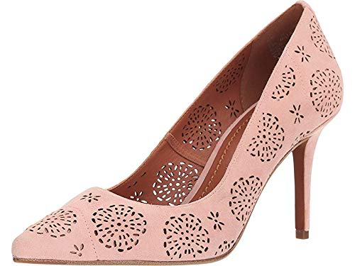 Price comparison product image Coach Waverly Tea Rose Cut Out Pump Peony 5.5