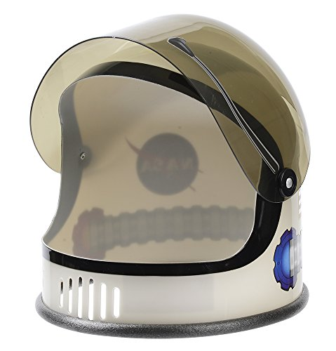 Aeromax Youth Toy Astronaut Helmet, Silver, 3-10 Years