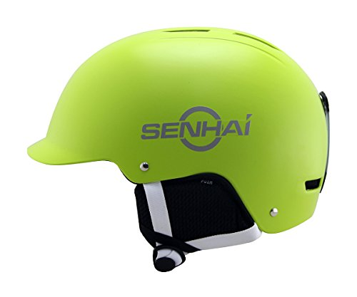 Kounga Senhai Casco para Esquí y Snowboard, Unisex Adulto,