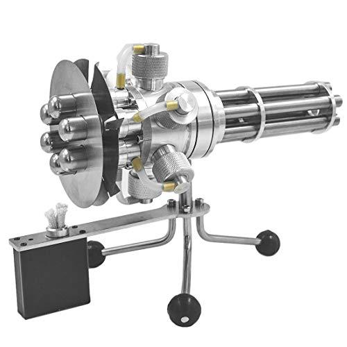 ZUJI 6 Zylinder Stirlingmotor Bausatz Modell mit Generator Motor Stirling Engine Kit Lehrreich Physik Spielzeug