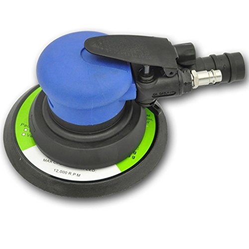 Ponceuse excentrique à air comprimé 150 mm 10,500 t/min 89 dB