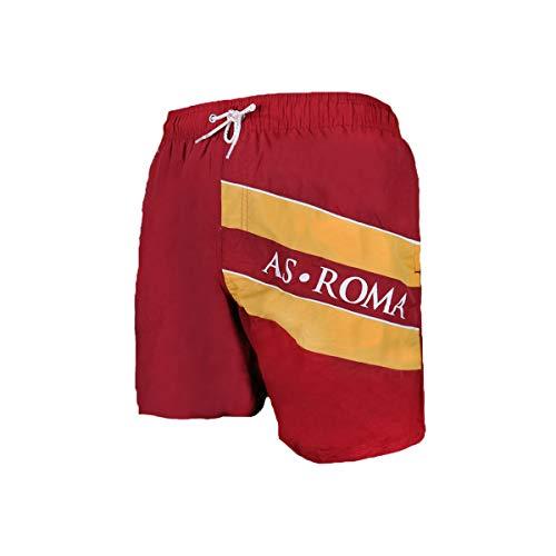 AS Roma Costume Bermuda Bambino Prodotto Ufficiale Art. 13713 (9/10 Anni, Bordeaux)