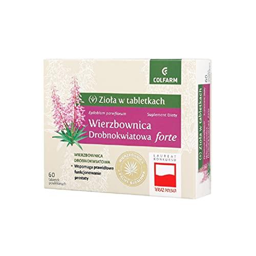 EPILOBIO PARVIFLORUM (SMALLFLOWER WILLOWHERB) 680 mg Apoya el buen funcionamiento de la próstata y del sistema urinario.