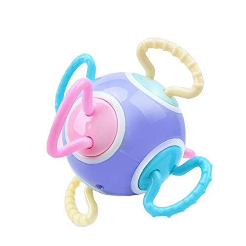 ZYCX123 Juguete Mordedor Winkel Sonajero Juguete del traqueteo del bebé de la Bola sensorial para niños Productos para el Hogar
