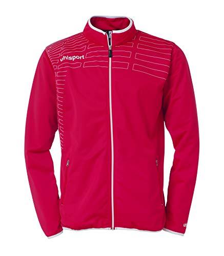 uhlsport Bekleidung Match Classic Jacke, Rot/Weiß, L