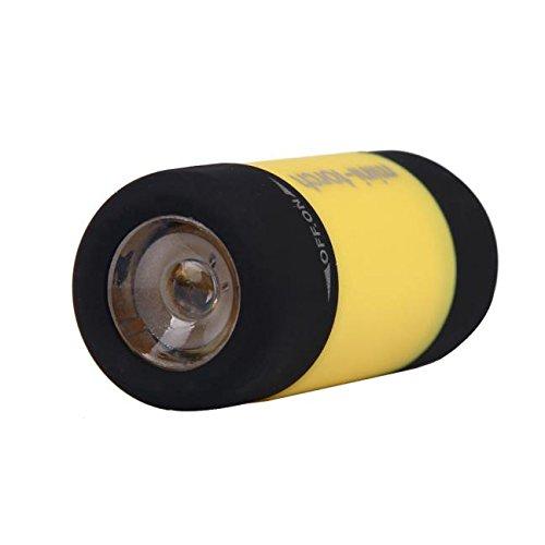 Mini-Torch 0.3W 25Lum USB wiederaufladbare LED-Taschenlampe Taschenlampe Schlüsselbund YE, LED-Licht für Ostertag (gelb)