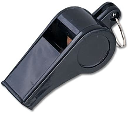Amazon com : MacGregor Economy Plastic Whistle Pack, Black