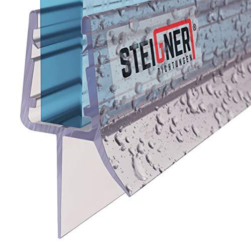 STEIGNER Duschdichtung, 80cm, Glasstärke 7/8 mm, Gerade PVC Ersatzdichtung für Dusche, UK33-08