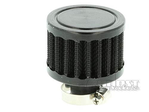 Entlüftungsfilter Mini 50mm Sportluftfilter 9/12 / 15/19 / 25mm Anschluss schwarz Gehäuse Getriebe Luftfilter (19mm Anschluss)