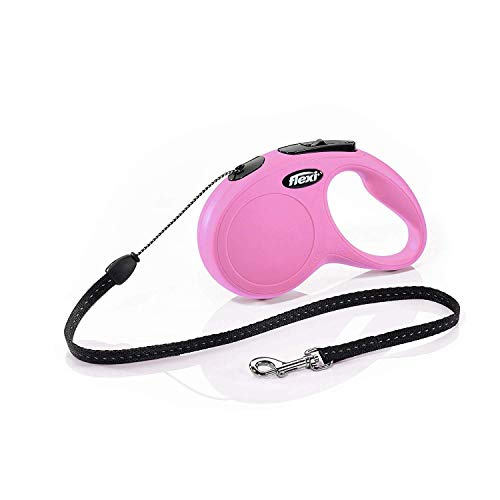 flexi New Classic S Seil 5 m pink für Hunde bis 12 kg