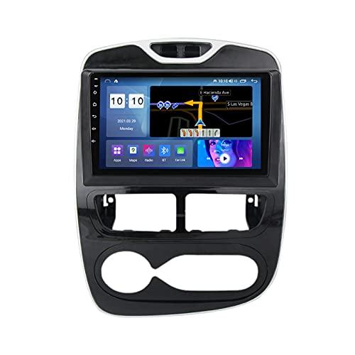 Android 10.0 Car Stereo Radio Car Multimedia Player Para Renault Clio 2013-2018, Pantalla Táctil De 9 Pulgadas Con Bluetooth Carplay Mirror Link GPS FM AM Cámara Trasera,Manual,M300S 8Core 3+32G