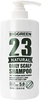 Big Green 23 Natural Daily Scalp Shampoo 23.6 fl oz-Natural Plant Based-Sulfate & Silicone Free-Helps Relieve Dry & Irritated Scalp-Botanical Oils Nourish & Promote Strong & Healthy Hair