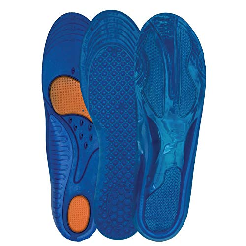 3 Pack Full Length Orthotic Insole/Insert Relieve Pain Althletic Value Unisex Mens 3.-7.5 /Womens US 5-9.5 Variety Cushioning Stabilizer Pack (623,636,204)
