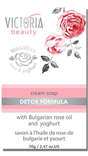 Savon corps anti-impuretés - Rose de Bulgarie & yaourt