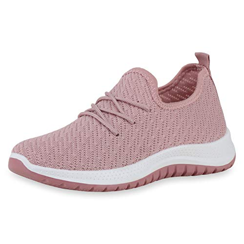 SCARPE VITA - Zapatillas de deporte para mujer, color Rosa, talla 38 EU