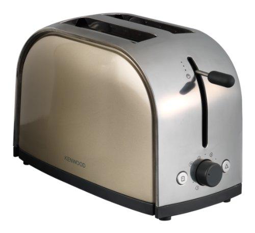 Kenwood TTM 114 Toaster / Metallics-Serie/ 900 Watt / Champagne / Hellblau