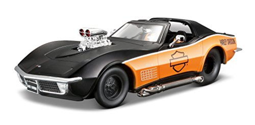 Maisto - Corvette del año 1970 en Escala 1/24 (32193)