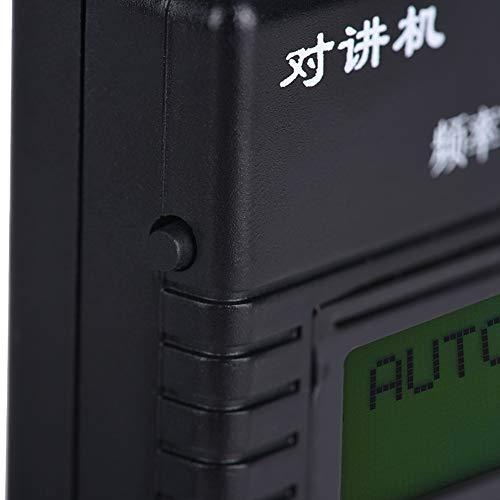 Yisenda Contador de frecuencia, Contador de frecuencia portátil, Conveniente para usuarios de Walkie-Talkie Aficionados Uso Profesional Propósito General