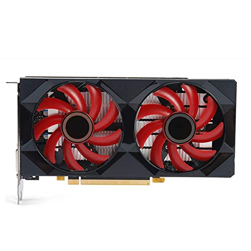 BMNN Compatible con tarjetas de vídeo XFX RX 560 4GB 128Bit GDDR5 RX 560D para tarjetas gráficas AMD RX 500 Series VGA RX560 470 570 460 580 480