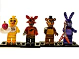 FAT CAT SALES FNAF MINI ACTION INTERLOCKING BUILDING BLOCK FIGURES WITH BAG