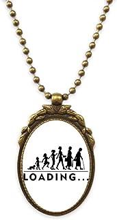 Children Women Old People Antique Necklace Vintage Bead Pendant Keychain