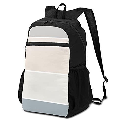 School Backpack Storage Packet Laptop Backpack Elegant Beige Green Color...