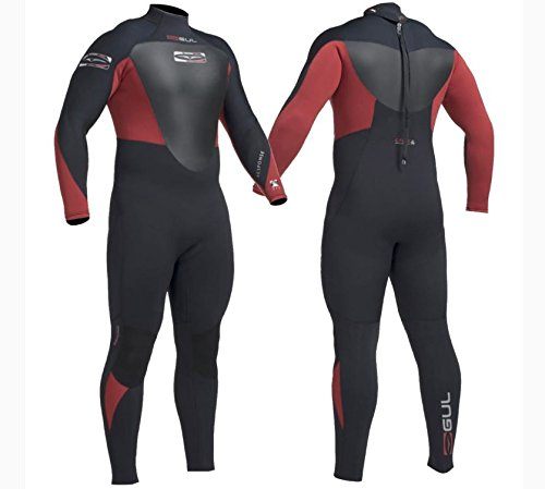 Gul, Muta in neoprene, 5mm, neoprene, Tuta, per immersioni nuoto Surf Vela, Uomo