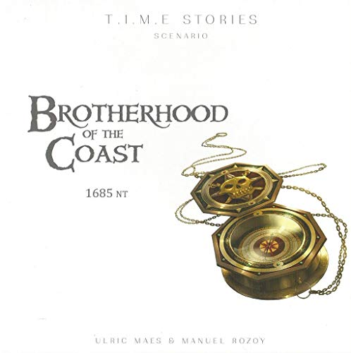 Space Cowboys ASMSCTS08EN T.I.M.E Stories: Brotherhood of The Coast, Mixed Colours