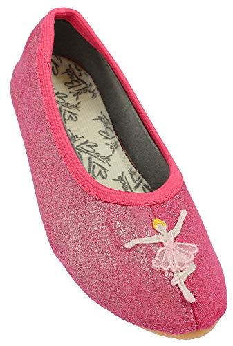 Beck Mädchen Ballerina Gymnastikschuhe, Rosa (Pink 06), 29 EU