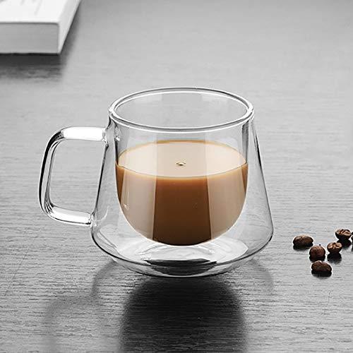 fire bird Tragbare Wohnkultur Doppelwandiger Becher Bürobecher Wärmedämmung Doppelte Kaffeetasse Kaffeeglasbecher, Stil: Ohne Etikett , Gesundes Trinkwasser aus umweltfreundlichem Glas