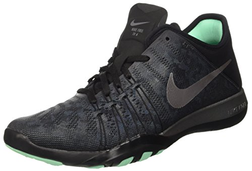 Nike Wmns Free Tr 6 Mtlc, Baskets Basses Femme, Gris (Dark Grey/Metallic Silver/Black), 38 EU