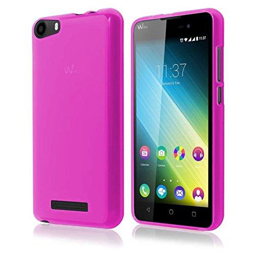 TBOC® Rosa Gel TPU Hülle für Alcatel One Touch Idol 3 (4.7) Ultradünn Flexibel Silikonhülle