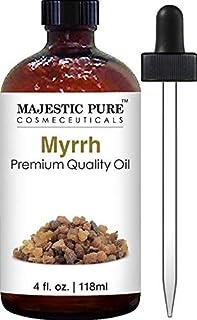 Majestic Pure Myrrh Oil, Premium Quality, 4 fl Oz