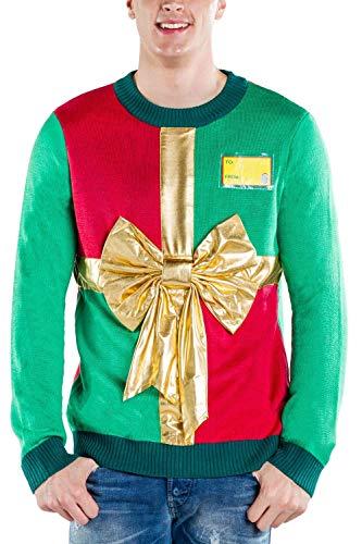 Tipsy Elves Men's Sweater X-Large Green